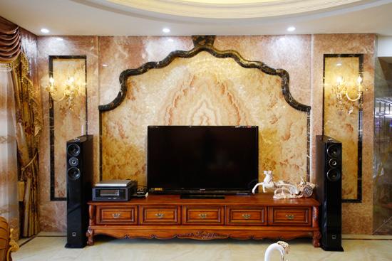 电视背景墙安装