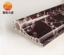 石塑线条纳米石材背景线条20cm电梯门套    紫罗红