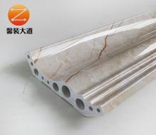 纳米科技石材顶角线12cm  金丝米黄