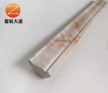 仿大理石墙角内装饰线条KS-2.5cm小阴角  红龙玉