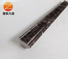 仿大理石墙角内装饰线条KS-2.5cm小阴角  深啡网
